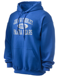 John W Chorley Elementary School Panda Bears Ultra Blend 50/50 Hooded Sweatshirt