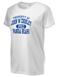 John W Chorley Elementary School Panda Bears Women's 6.1 oz Ultra Cotton T-Shirt