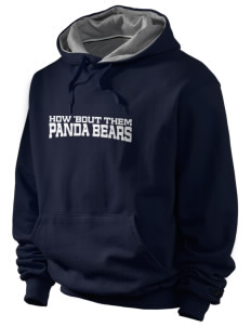 John W Chorley Elementary School Panda Bears Champion Men's Hooded Sweatshirt