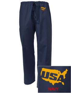 USS San Antonio Embroidered Scrub Pants
