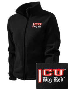 Cornell University Big Red Embroidered Women's Fleece Full-Zip Jacket