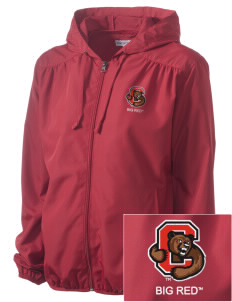 Cornell University Big Red Embroidered Women's Hooded Essential Jacket
