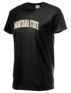Montana State University Bobcats Women's 6.1 oz Ultra Cotton T-Shirt