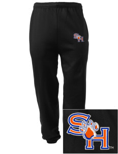Sam Houston State University Bearkats Embroidered Men's Sweatpants with Pockets