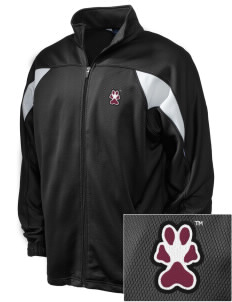 Southern Illinois University Salukis Embroidered Holloway Men's Full-Zip Track Jacket
