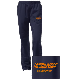 The University of Tennessee at Martin Skyhawks Embroidered Women's Tricot Track Pants