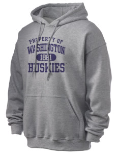 University of Washington Huskies Ultra Blend 50/50 Hooded Sweatshirt