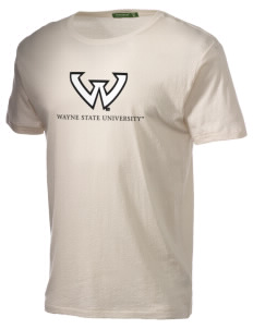 Wayne State University Warriors Alternative Men's Organic Crew T-Shirt