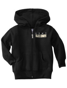 United States Military Academy Black Knights  Toddler Hooded Zip Up Sweatshirt w/ Pockets