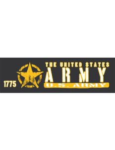 "U.S. Army Bumper Sticker 11"" x 3"""