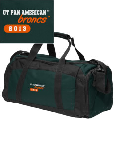 University of Texas-Pan American Broncs Embroidered Gym Bag