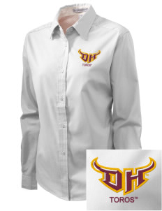 California State University, Dominguez Hills Toros Embroidered Women's Easy-Care Shirt