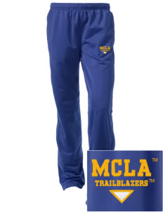 Massachusetts College of Liberal Arts Trailblazers Embroidered Women's Tricot Track Pants