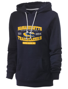 Massachusetts College of Liberal Arts Trailblazers Women's Core Fleece Hooded Sweatshirt