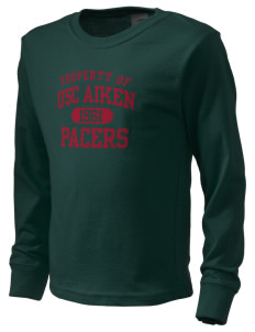 University of South Carolina Aiken Pacers  Kid's Long Sleeve T-Shirt