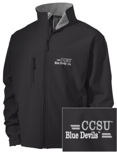 Central Connecticut State University Blue Devils Embroidered Men's Soft Shell Jacket