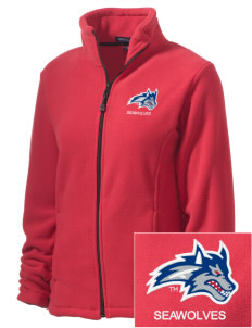 Stony Brook University Seawolves Embroidered Women's Wintercept Fleece Full-Zip Jacket