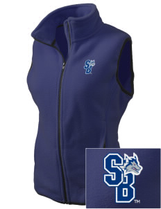 Stony Brook University Seawolves Embroidered Women's Fleece Vest