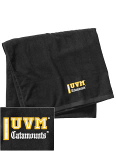 The University of Vermont Catamounts Embroidered Beach Towel