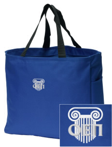 Omicron Epsilon Pi Embroidered Essential Tote
