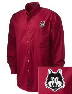 Loyola University Chicago Ramblers Embroidered Men's Twill Shirt