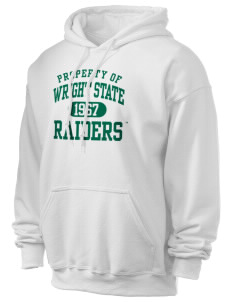 Wright State University Raiders Ultra Blend 50/50 Hooded Sweatshirt