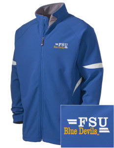 SUNY Fredonia Blue Devils Holloway Embroidered Men's Radius Zip Front Jacket
