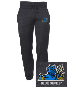 SUNY Fredonia Blue Devils Embroidered Alternative Men's 6.4 oz Costanza Gym Pant