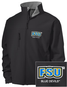 SUNY Fredonia Blue Devils Embroidered Men's Soft Shell Jacket