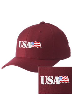 U.S. Marine Corps Embroidered Pro Model Fitted Cap