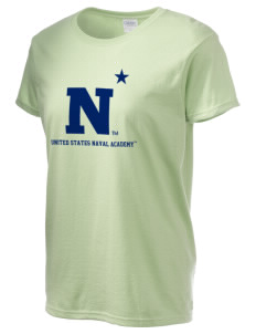 United States Naval Academy Midshipmen Women's 6.1 oz Ultra Cotton T-Shirt