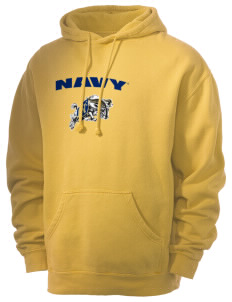 United States Naval Academy Midshipmen Men's 80/20 Pigment Dyed Hooded Sweatshirt
