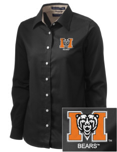 Mercer University Bears  Embroidered Women's Pima Advantage Twill