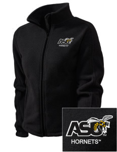 Alabama State University Hornets Embroidered Women's Fleece Full-Zip Jacket