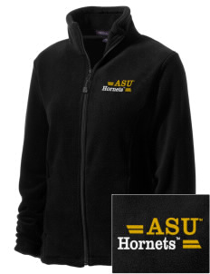 Alabama State University Hornets Embroidered Women's Wintercept Fleece Full-Zip Jacket