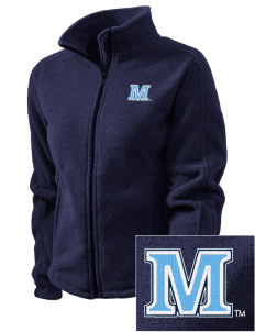 University of Maine Black Bears Embroidered Women's Fleece Full-Zip Jacket