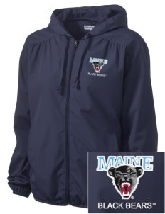 University of Maine Black Bears Embroidered Women's Hooded Essential Jacket
