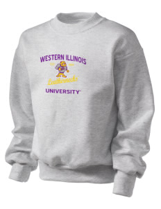Western Illinois University Leathernecks Kid's Crewneck Sweatshirt