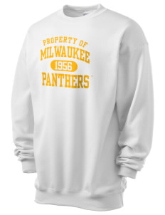 University of Wisconsin-Milwaukee Panthers Men's 7.8 oz Lightweight Crewneck Sweatshirt