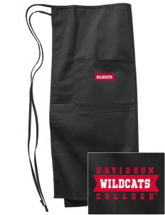 Davidson College Wildcats Embroidered Full Bistro Bib Apron