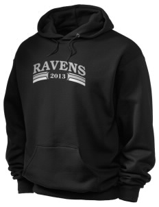 Spectrum Community School Ravens Holloway Men's 50/50 Hooded Sweatshirt