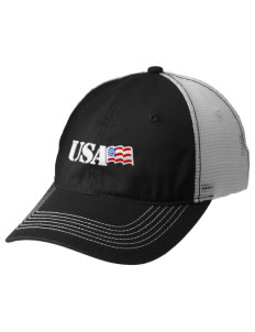 Connecticut Air National Guard Embroidered Mesh Back Cap