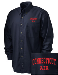 Connecticut Air National Guard Embroidered Men's Twill Shirt