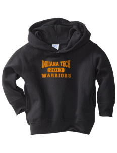 Indiana Tech Warriors  Toddler Fleece Hooded Sweatshirt with Pockets