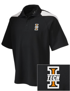 Indiana Tech Warriors Embroidered Holloway Men's Frequency Performance Pique Polo