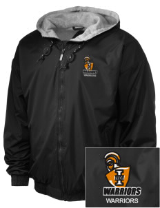 Indiana Tech Warriors Embroidered Holloway Men's Hooded Jacket