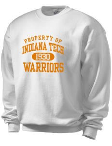 Indiana Tech Warriors Men's Crewneck Sweatshirt