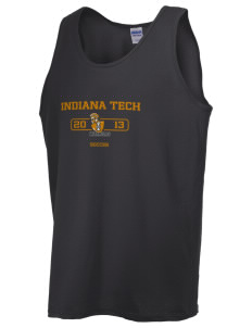 Indiana Tech Warriors  Men's Ultra Cotton Tank