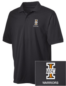 Indiana Tech Warriors Embroidered Men's Micro Pique Polo