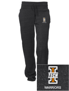 Indiana Tech Warriors Embroidered Alternative Women's Unisex 6.4 oz. Costanza Gym Pant
